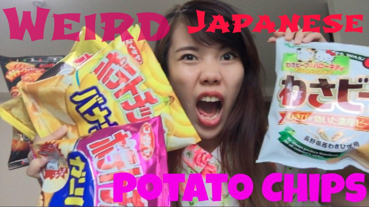 Weird Japanese Potato Chips Taste Test