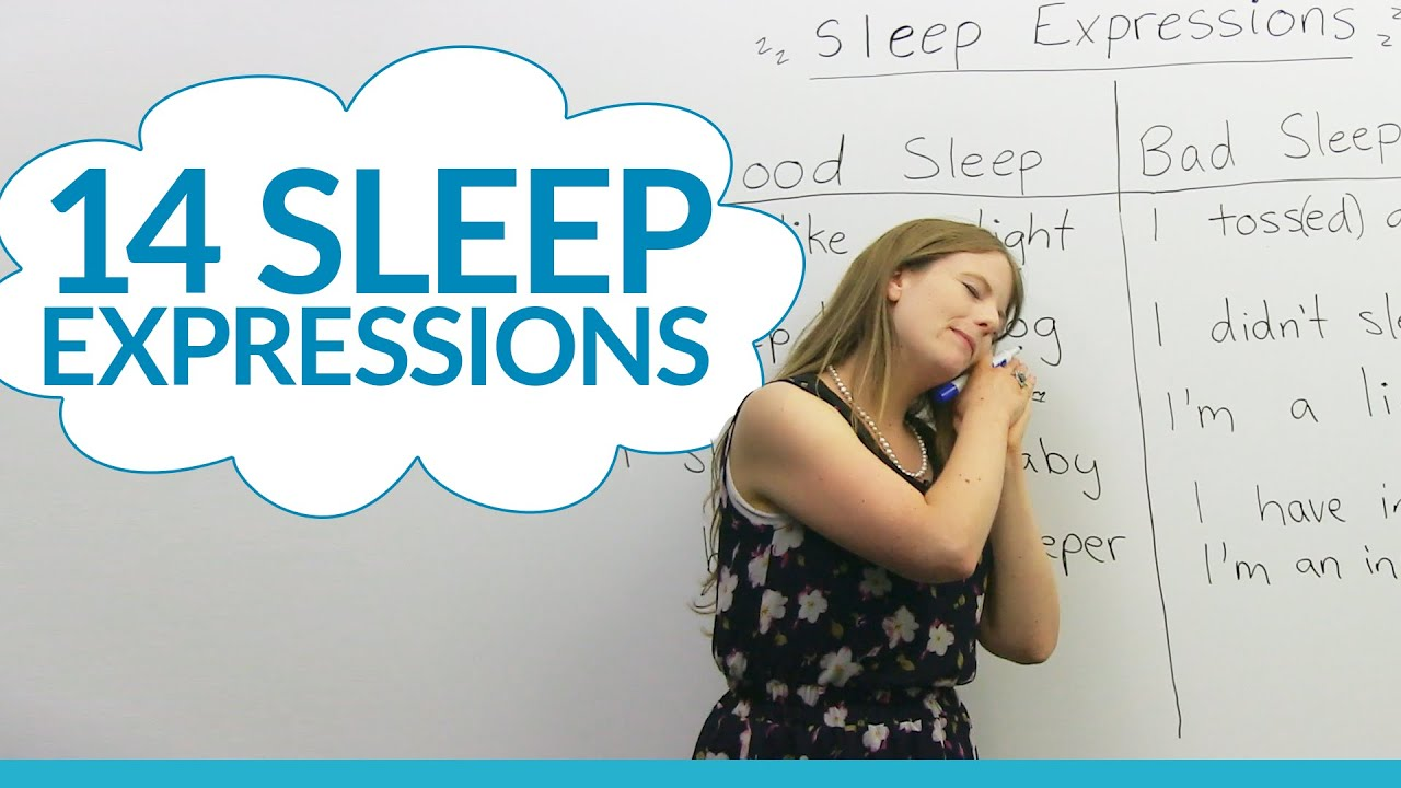 14 English Expressions About Sleep - Youtube-5533