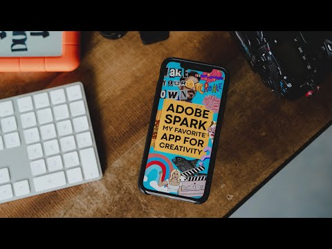 My Favorite App For Branding And Social Media Marketing As A Creator: Adobe Spark