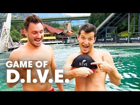 Weird Dives and Brutal Back Flops   Game of D.I.V.E