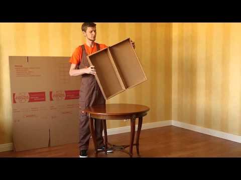 Инструкция по сборке гардеробного короба от компании Деликатный переезд