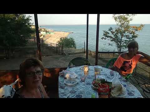 Поселок рожок Азовское море