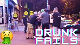 Ultimate Drunk People Fails Compilation (Try Not to Laugh)🍷🍷🍷