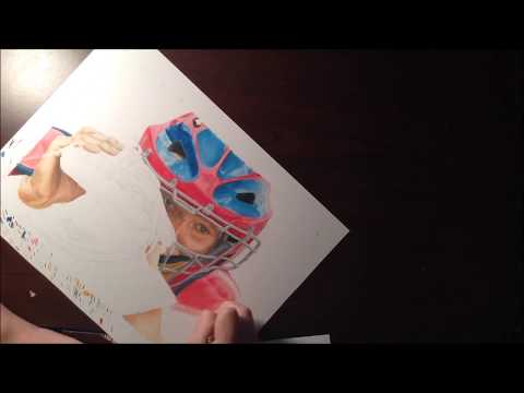 Drawing Yadier Molina