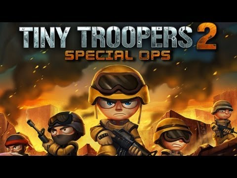 Tiny Troopers 2 Special Ops - iPhone & iPad Gameplay Video