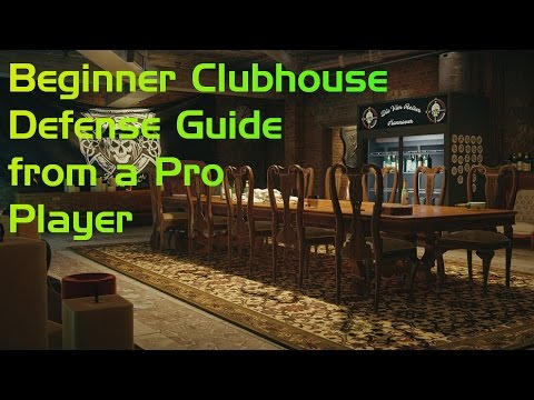 Clubhouse Defense Guide from a Pro Player! All 4 Sites Covered!