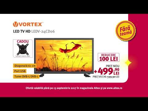 Reclamă ALTEX - TV Vortex - septembrie 2017