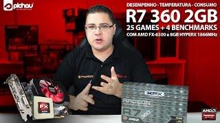 review radeon r7 360 2gb em 25 games 4 benchmarks consumo temperatura com fx 6300