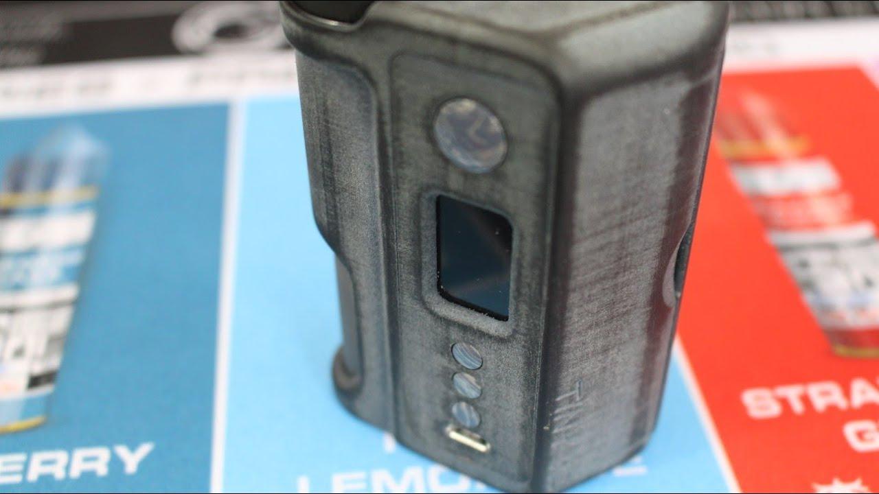 Box Mod Mafia__TINY V2  dual 18650 DNA250c squonk mod  PA12 3D printed love