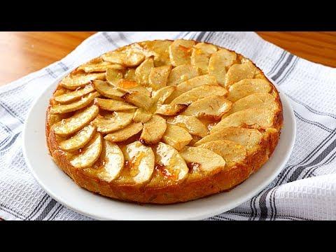 Tarta de manzana. Receta FÁCIL y RÁPIDA - Postres y tartas fáciles