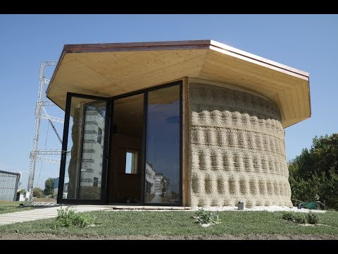 Gaia | 3D Printed Earth House With Crane WASP | Presentation Video