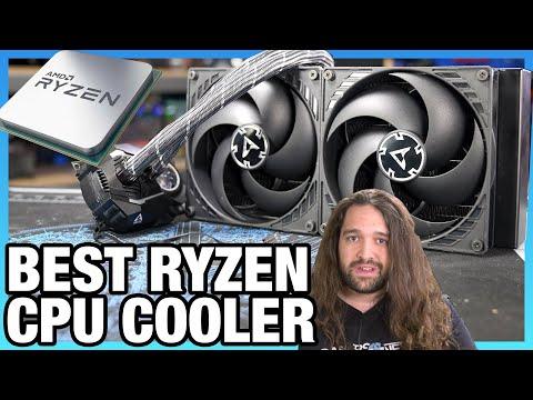 Arctic Liquid Freezer II Cooler Review: New Best CPU Thermals on AMD Ryzen