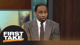 Stephen A. on Dez Bryant possibly joining Giants: He's caught up in his emotions | First Take | ESPN