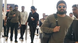 Allu Arjun's Stylish Look In Sukumar Movie | EXCLUSIVE VISUALS | #AA20 Manastars