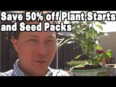 How to Save Money on Plant Starts & Vegetable Seeds