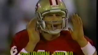 1987 Cleveland Browns @ San Francisco 49ers Week 12