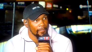 Kevin Durant tells Barkley to go downstairs and see Draymond Green