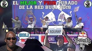¿Quién fue el MEJOR y el PEOR JURADO de la Internacional? Red Bull Batalla de los Gallos 2018 🇦🇷