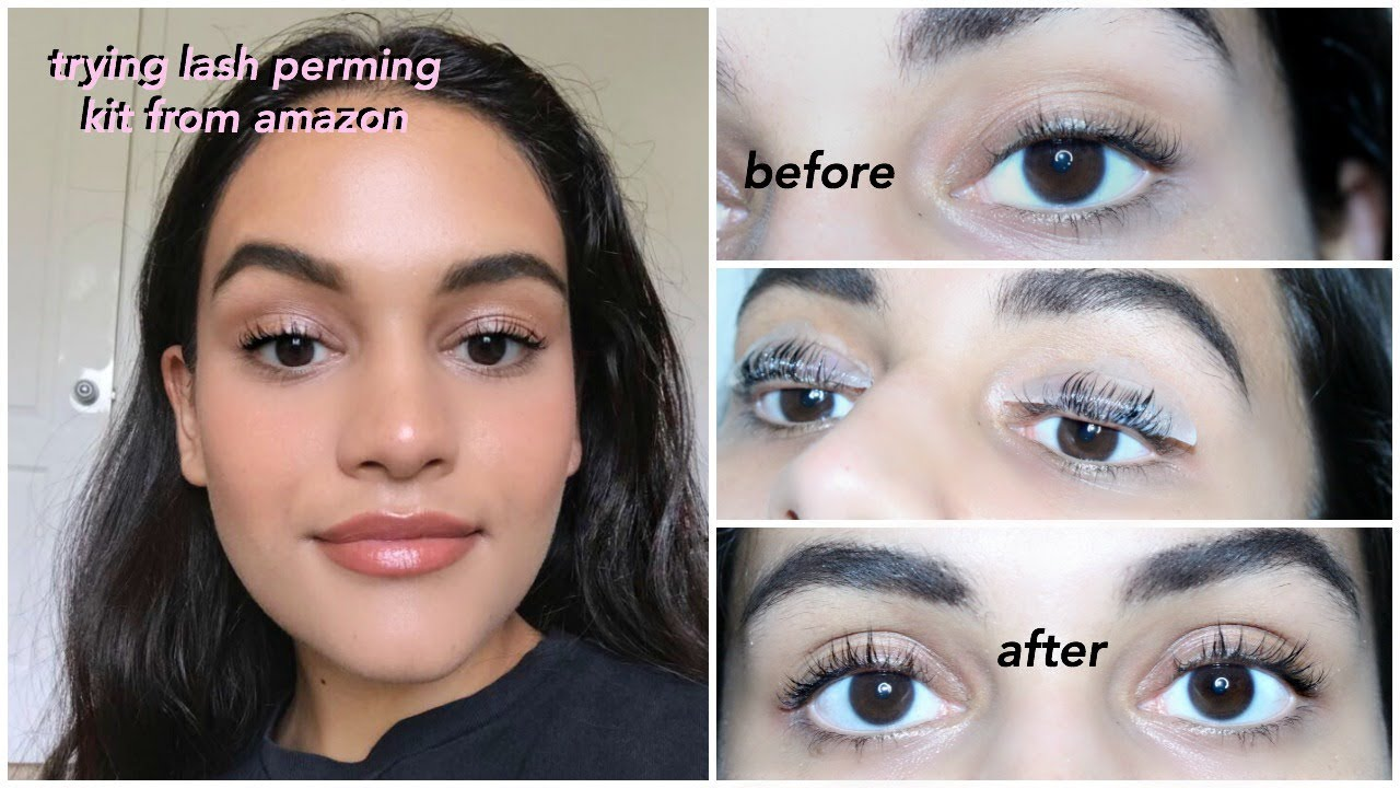 First Impressions 18 At Home Lash Perming Kit From Amazon Youtube