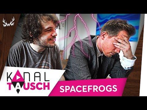 Kanaltausch mit den Space Frogs ESKALIERT!