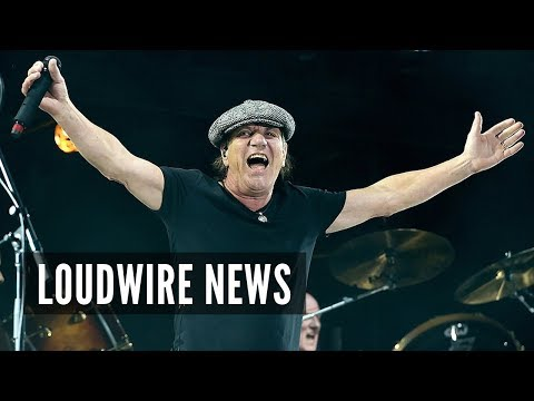 AJ - Brian Johnson Allegedly Says He's Back in AC/DC
