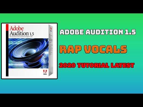 EDIT RAP VOCALS ADOBE AUDITION 1.5 2020 (TAGALOG)