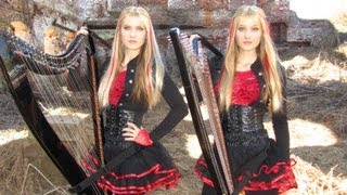 Download IRON MAIDEN - Fear of the Dark - Harp Twins (Camille and Kennerly) HARP METAL MP3 song and Music Video