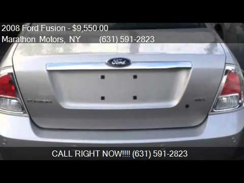 2008 Ford Fusion I4 Sel Sedan For Sale In Riverhead Ny