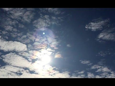 Sun Cloud UFO