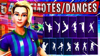 """Fortnite NEW """"FINESSE FINISHER"""" Skin Showcased/Introduced with 54 Dances/Emotes 