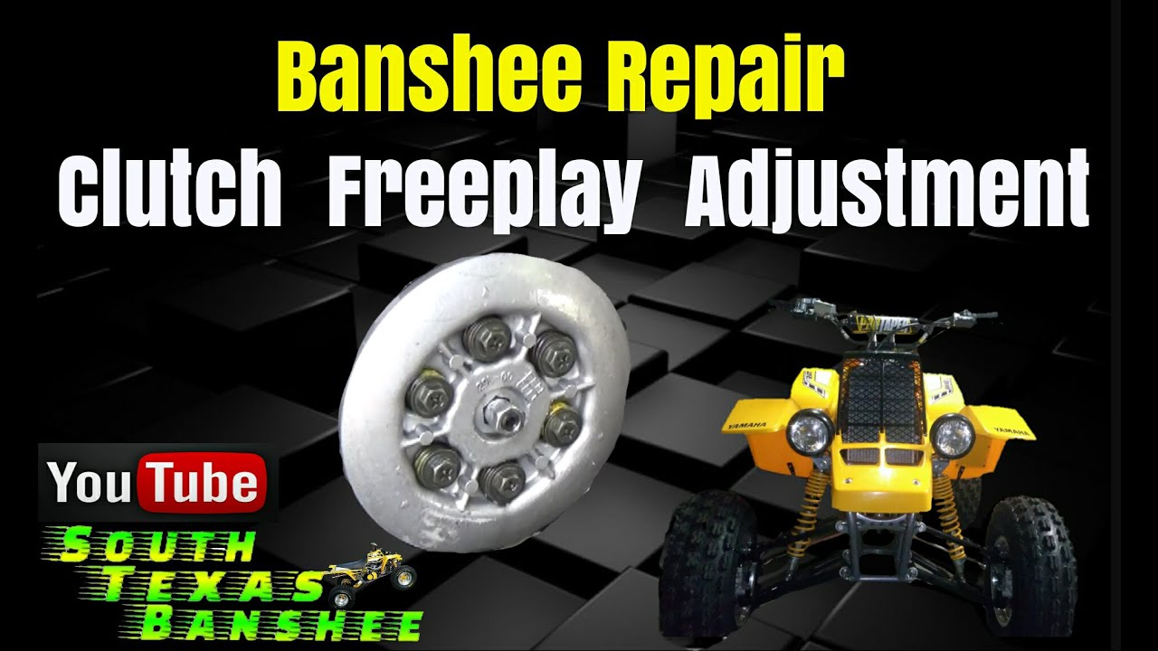 Banshee clutch free play adjustment youtube banshee clutch free play adjustment pooptronica