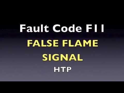 F11 Fault Code -  False Flame Signal