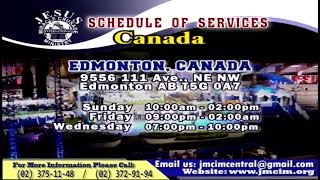 Please Watch!!! JMCIM Central Live Streaming of SUNDAY GENERAL WORSHIP | AUGUST 25, 2019.