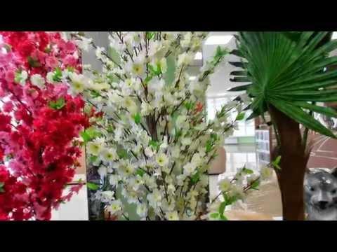 Искусственное дерево сакура Декоративные купить для интерьера квартиры ландшафта сада дачи дома