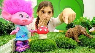 ToyClub шоу - Игрушки Тролли - Розочка ищет Алмазика