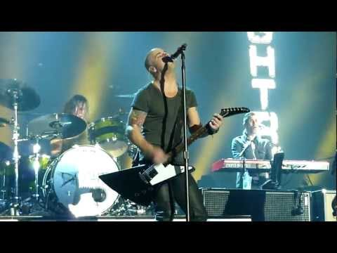 Daughtry  Over You & No Surprise   Manchester Arena, UK, 2012