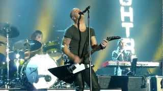 Daughtry - Over You & No Surprise (Live - Manchester Arena, UK, 2012)
