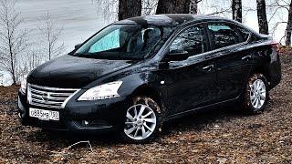 Чем берёт Nissan Sentra? Тест драйв Ниссан Сентра 2015 на ходу