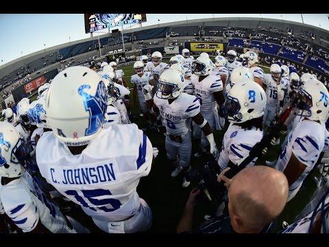 2016 American Football Highlights - Memphis 34, Temple 27