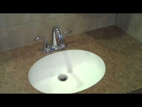 how to cut out sink in laminate countertop