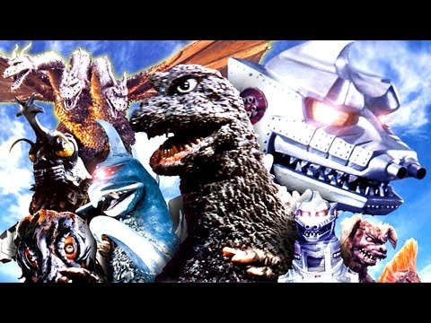 GODZILLA Showa Era (1954-1975) MOVIE RECAP!