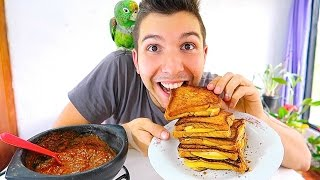 GRILLED CHEESE & TOMATO SOUP  Mukbang & Recipe