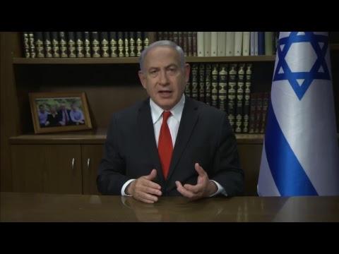 Benjamin Netanyahu Live at GA - Tuesday, November 14, 2017