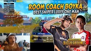 Download lagu Applause Coach Boyka Kepada BTR Luxyy Best Sniper Last Man | Custom Room | PUBG Mobile