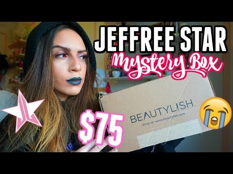 BEAUTYLISH LUCKY BAG X JEFFREE STAR... I'M IN BETWEEN WITH THIS ONE!