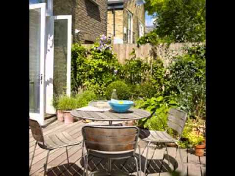 Small Patio Garden Ideas   YouTube