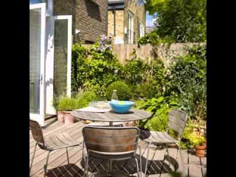 Small Patio Garden Ideas YouTube