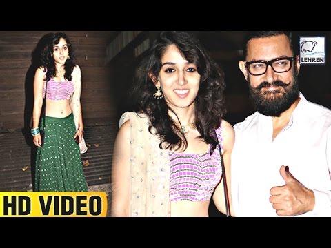 Aamir With Daughter Ira Khan ATTEND Imran's Party | Full Video | LehrenTV Mp3
