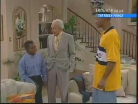 Gary Coleman guest appearance Arnold and Mr. Drummond on the Fresh Prince of Bel Air