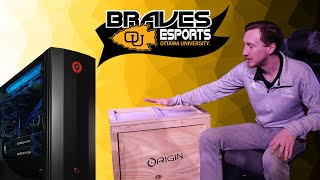 ORIGIN PC Unboxing | The official esports build for Braves Esports